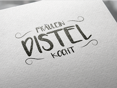 Fräulein Distel Catering - Corporate Design Vorschau